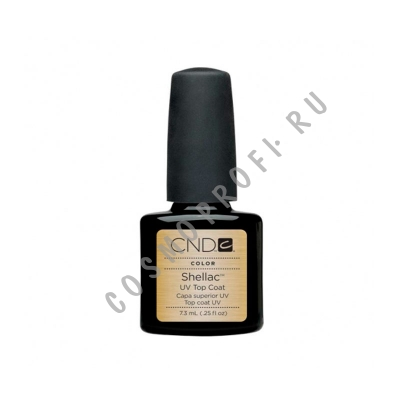 Верхнее покрытие CND - Shellac U.V. Top Coat 40401 7,3 мл
