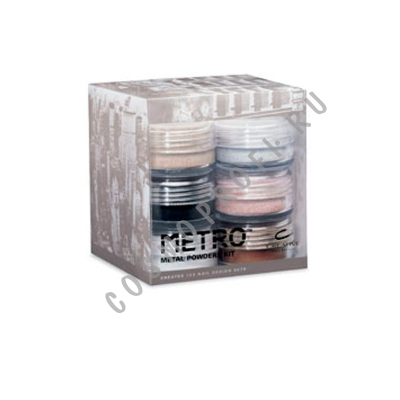 ����� �� 6 ������������� ���� ����� Metro CND - Perfect Col�r Sculpting Powder Shimmers Collection 3243 6*22 �