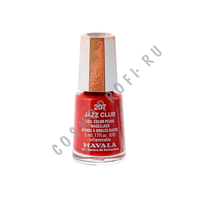 ��� ��� ������ ����-���� Mavala - Mini Color Jazz club 91207 5 ��