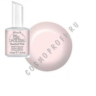 ������� ��� ������� �������� Ibd - Just Gel Polish Seashell Pink 19400/10 14 ��