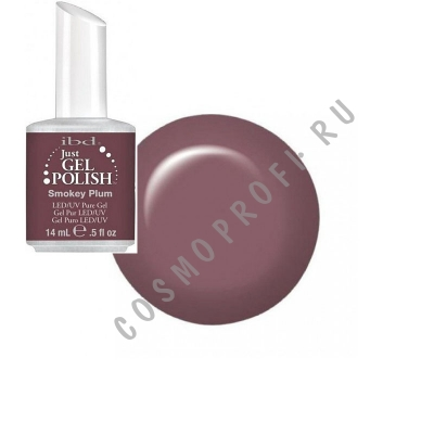 ������� ��� �������� ����� Ibd - Just Gel Polish Smokey Plum 19400/02 14 ��
