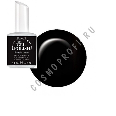 ������� ��� ������ ���� Ibd - Just Gel Polish Black Lava 19400/04 14 ��