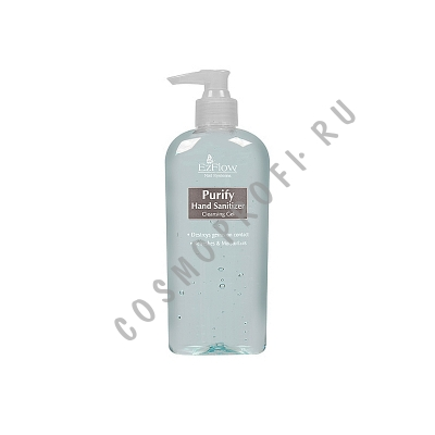 Дезинфицирующий гель для рук EzFlow - Natural Nail Treatments Purify Hand Sanitizer 21000 236 мл