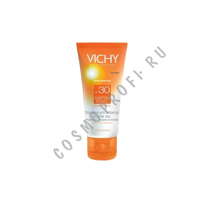 �������������� ���������� �������� SPF-30 Vichy - Capital Soleil Emulsion Anti-Brillance Toucher Sec SPF-30 M5875500 50 ��