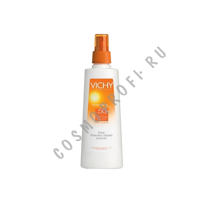 Солнцезащитный спрей для тела SPF-50+ Vichy - Capital Soleil Spray Corps SPF-50+ M2978001 200 мл
