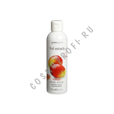 Скраб для тела, манго Greenland - Fruit Extracts Body Scrub Mango 0738-FX32 200 мл
