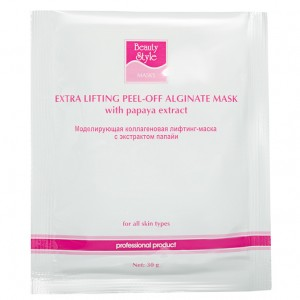 BeautyStyle Лифтинг-маска коллагеновая с экстрактом папайи (One-phase Collagen Lifting Masks | Papaya Extract) 4503306 30 г