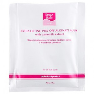 BeautyStyle Лифтинг-маска коллагеновая с экстрактом ромашки (One-phase Collagen Lifting Masks | Chamomile Extract) 4503309 30 г