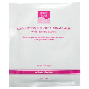 BeautyStyle Лифтинг-маска коллагеновая с экстрактом жасмина (One-phase Collagen Lifting Masks | Jasmine Extract) 4503303 30 г