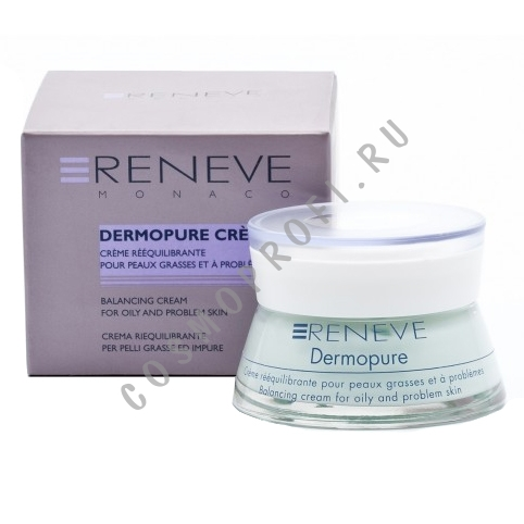 ������������� ���� ��� ���� � ���������� ���� Reneve - Dermopure Balancing Cream For Oily And Problem Skin R72VV 50 ��