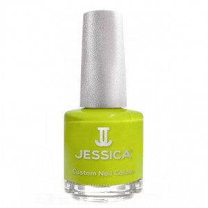 Jessica Лак для ногтей Yellow Flame Jessica - Custom Nail Colour UPC 092 14,8 мл
