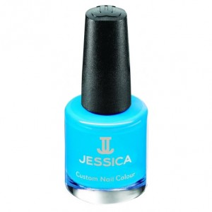 Jessica Лак для ногтей (Custom Nail Colour / Argon Blue) UPC 793 14,8 мл