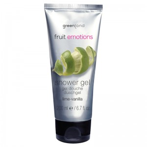 GreenLand Гель для душа, лайм-ваниль (Fruit Emotions | Showergel Lime-Vanilla) 1346-FE1114 200 мл