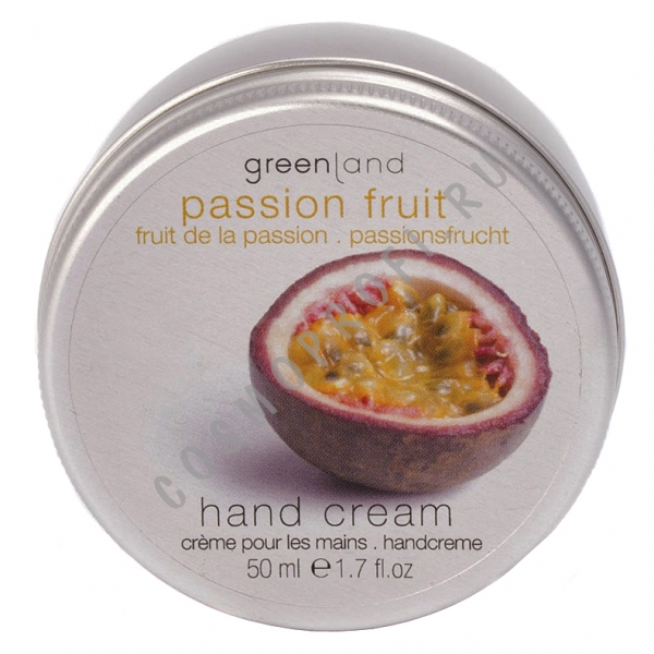 Крем для рук, маракуйя GreenLand - Balm and Butter Hand Cream Passion Fruit 1324-BBH16 50 мл