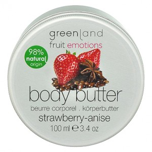 GreenLand Крем для тела, клубника-анис (Fruit Emotions | Body Butter Strawberry-Anise) 2257-FE57 100 мл