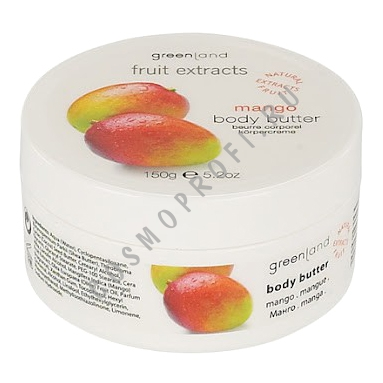 Крем для тела, манго Greenland - Fruit Extracts Body Butter Mango 0734-FX42 150 мл