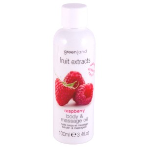 GreenLand Масло для тела и массажа, малина (Fruit Extracts | Body and Massage Oil Raspberry) 0729-FX24 100 мл