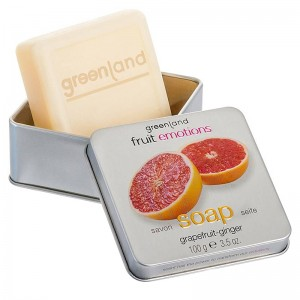 GreenLand Мыло, грейпфрут-имбирь (Fruit Emotions | Hand Soap Grapefruit-Ginger) 1365-FE145 100 г