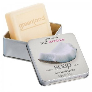 GreenLand Мыло, кокос-мандарин (Fruit Emotions | Hand Soap Coconut-Tangerine) 1359-FE142 100 г