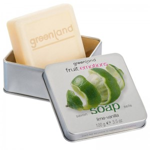 GreenLand Мыло, лайм-ваниль (Fruit Emotions | Hand Soap Lime-Vanilla) 1363-FE144 100 г