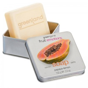 GreenLand Мыло, папайя-лимон (Fruit Emotions | Hand Soap Papaya-Lemon) 1341-FE141 100 г