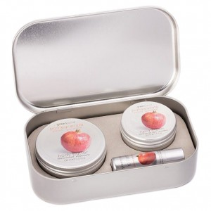 Greenland Набор: крем для тела, крем для рук, бальзам для губ, гранат  Greenland - Balm & Butter Set Pomegranate 1333-SKN16 100+50 мл + 3,9 г