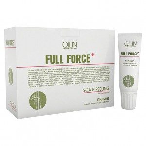 Ollin ������ ��� ���� ������ � ���������� ������� (Full Force / Scalp Peeling with Bamboo Extract) 725591 10*15 ��