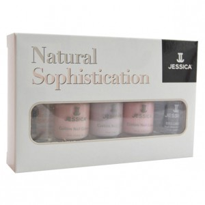 Jessica ����� ����� ��� �������� ������������ ��������� (Kits | Natural Sophistication Manicure Kit) MNK 1224 5*7,4 ��