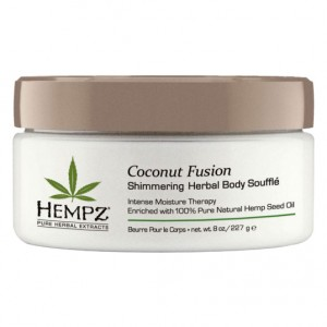 Hempz ����������� ����� ��� ���� � ��������� �������� ����� (Herbal Moisturizer | Shimmering Herbal Herbal Body Moisturizer  Souffle) 2135-03 42 �