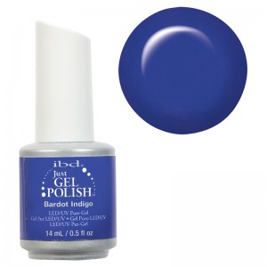 Ibd Гелевый лак Индиго 56980 (Just Gel Polish / Bardot Indigo ) 19400/158 14 мл