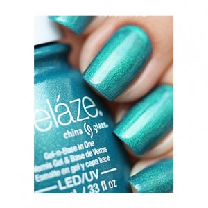 China Glaze Гелевый лак Дерзкий (Gelaze / Gel-N-Base Polish Deviantly Daring) 82244 9,76 мл