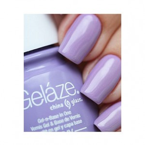 China Glaze Гелевый лак Раскованная гостья China Glaze - Gelaze Gel-N-Base Polish Tart-Y For The Party 82257 9,76 мл