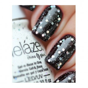 China Glaze Гелевый лак Техно (Gelaze / Gel-N-Base Polish Techno) 82258 9,76 мл