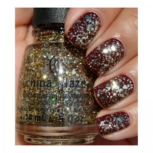 China Glaze Лак для ногтей Пузырьки China Glaze - Nail Lacquer Cheers! Bring On The Bubbly 82774 14 мл