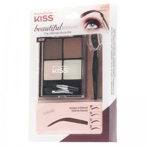 Kiss ����� ��� ������������� ������ (Make Up | Beautiful  Brow Kit) 01-445 1 ��