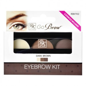 Kiss ����� ��� ������������� ������ (Make Up | Go Brow Dark Brown Brow Kit Go Brow) 01-446 1 ��