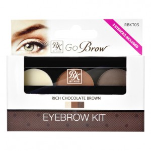 Kiss ����� ��� ������������� ������ (Make Up | Go Brow Rich Chocolate Brown Brow Kit Go Brow) 01-447 1 ��