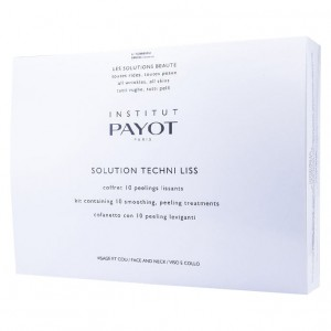 Payot Набор Techni Liss 10 масок + 10 пудра-активатор + 10 лосьон пилинг (Techni Liss / Kit Solution Techni Liss) 65074950 10*20 + 10*5 + 10*10 гр