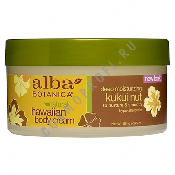 ��������� ���� ��� ���� � ������ ������ Alba Botanica - Kukui Nut Body Cream AL00824 184 �