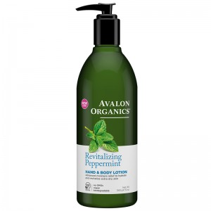 Avalon Organics Лосьон для рук и тела с маслом мяты (Body Care / Peppermint) AV35208 360 мл