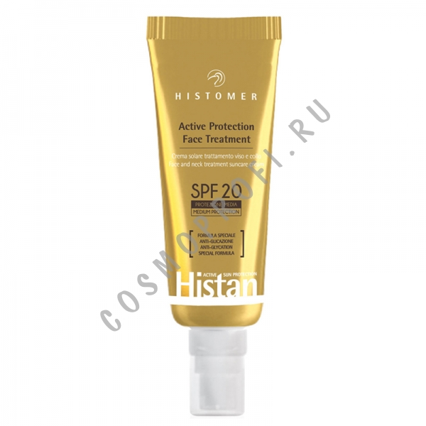Histomer Солнцезащитный крем SPF-20 для лица (Histan Active Protection | Face Cream) HISTAP07 50 мл