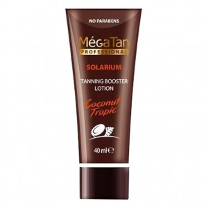MegaTan Лосьон для загара (Coconut Tropic | Tanning Booster Lotion) 528 40 мл