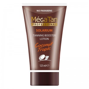MegaTan Лосьон для загара (Coconut Tropic | Tanning Booster Lotion) 529 125 мл