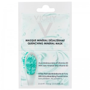 Vichy Vichy Успокаивающая маска, саше (Purete Thermale | Mineral Mask) M9116300 2*6 мл vichy крем эксфолиант отшелушивающий vichy purete thermale purete thermale 17808494 75 мл