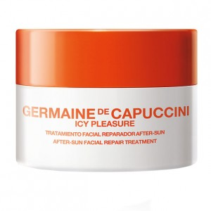 Germaine de Capuccini Питательный крем для лица после загара (Golden Caresse | Icy Pleasure After-Sun Facial Repair Treatment) 81174 50 мл
