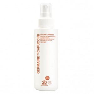 Germaine de Capuccini Спрей антивозрастной SPF-20 (Golden Caresse | Sunspray With Universal Anti-Age Protection ) 81370 200 мл