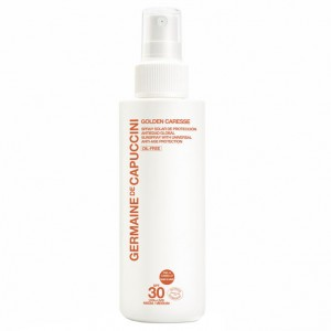 Germaine de Capuccini Спрей антивозрастной SPF-30 (Golden Caresse | Sun Spray With Universal Anti-Age Protection) 81177 200 мл