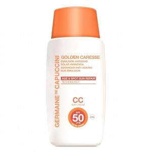 Germaine de Capuccini Эмульсия антивозрастная с тоном SPF-50 (Golden Caresse | Advanced Anti-Ageing Sun Emulsion) 81182 50 мл