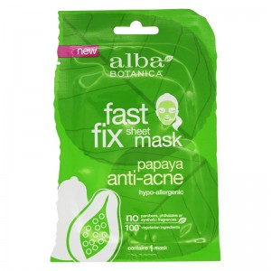 Alba Botanica Очищающая маска Папайя (Sheet Masks | Fast Fix Papaya Anti-Acne) AL00933 15 г