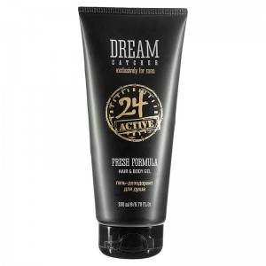 Dream Catcher Гель-дезодорант для душа (For Men | Fresh Formula 24 Active Hair&Body Gel) 108016 200 мл